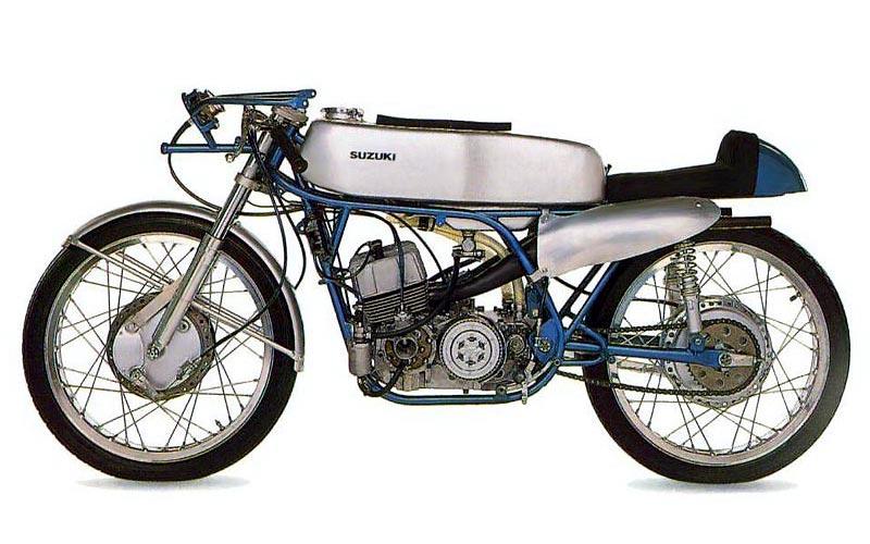 Moto Suzuki RT63 1963 da Suzuki Racing
