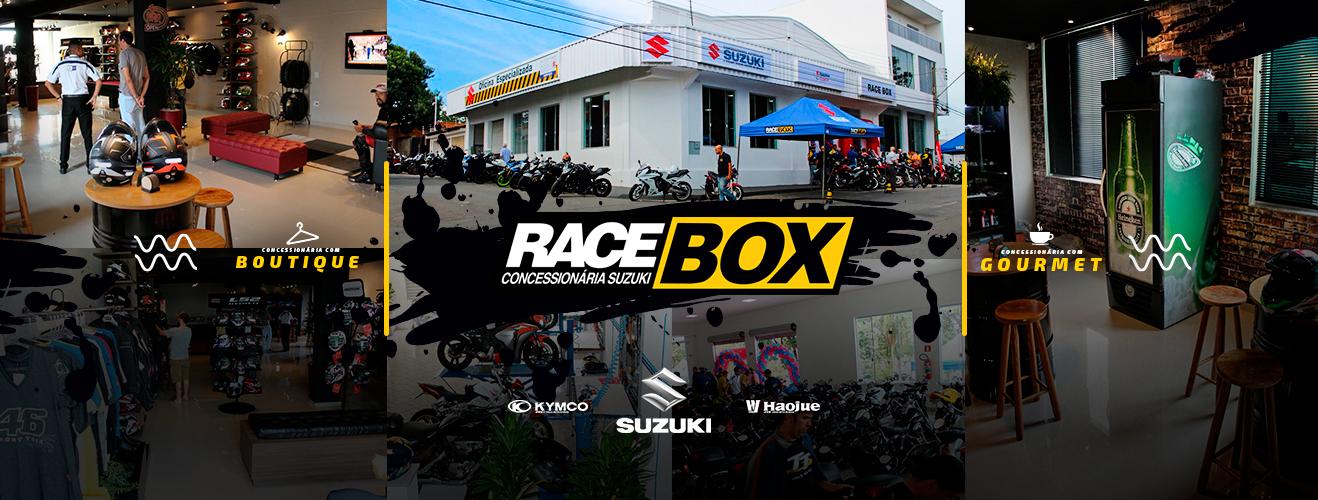Capa concessionária Racebox
