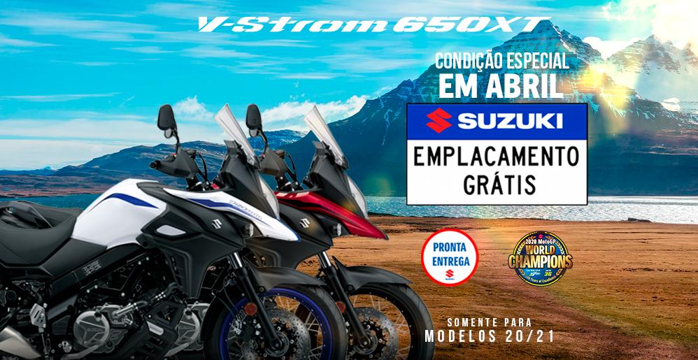 SUZUKI V-STROM 650XT EMPLACAMENTO GRÁTIS