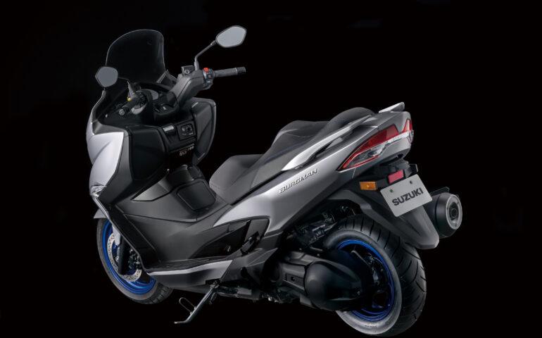 Nova Suzuki Burgman 400 2021