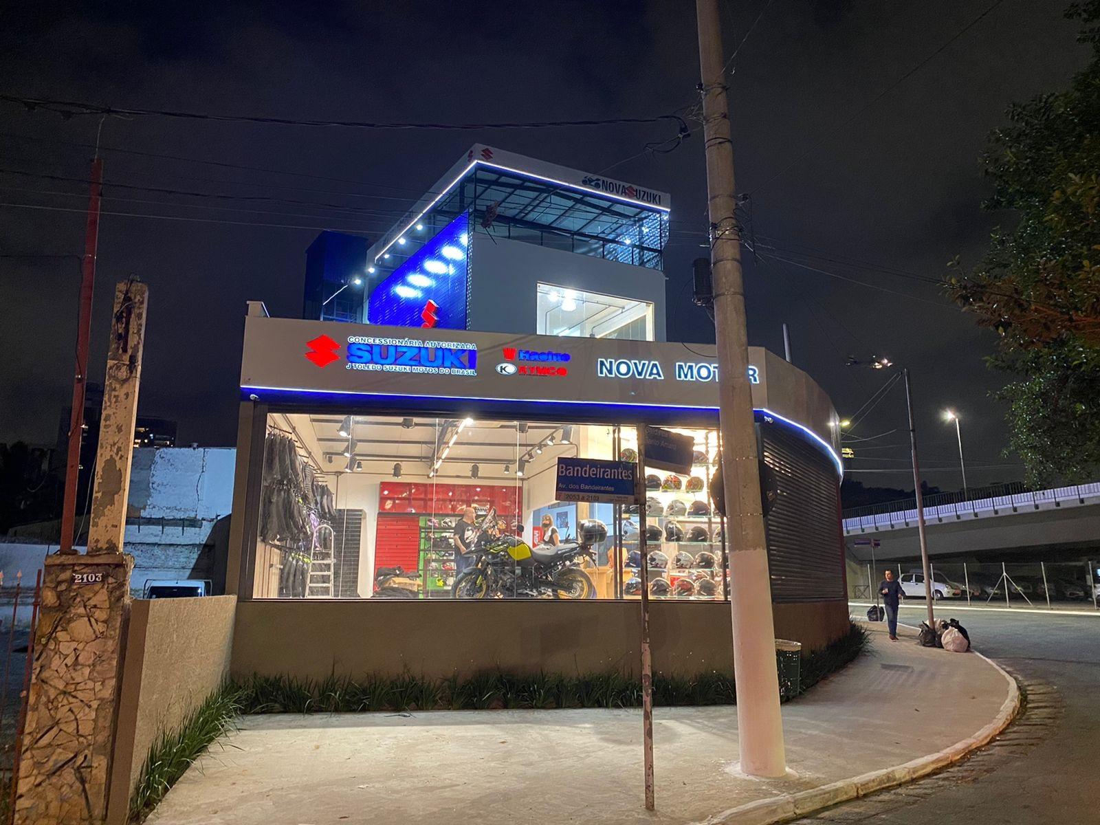 Nova loja Concessionária Nova Suzuki no Itaim Bibi