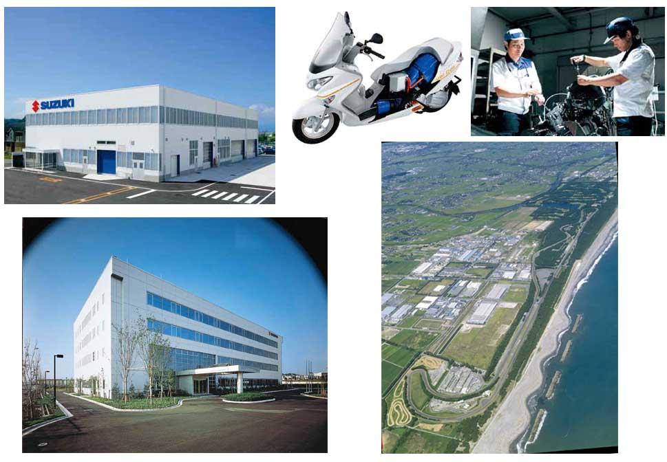 Motos - Centro de Pesquisa Suzuki Motos 6