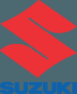 Motos - Logo Oficial Suzuki Vertical