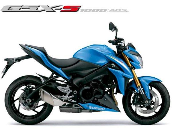 Moto GSX-S1000A Azul