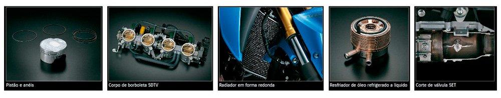 Moto GSX-S1000A Tecnologia