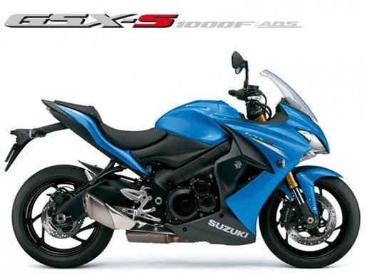 Moto GSX-S1000F Azul