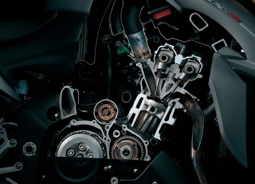 Moto GSX-S1000F Motor