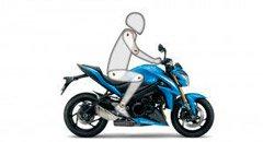 Moto GSX-S1000F Posição de Pilotagem