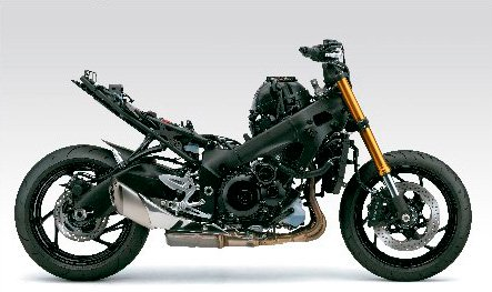Motocicleta GSX-S1000A Chassí