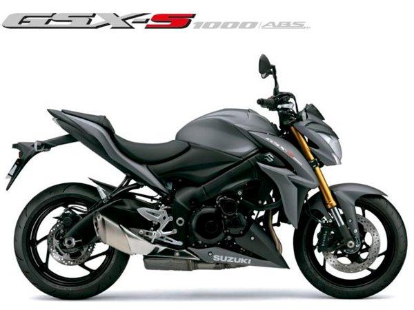 Motocicleta GSX-S1000A Cinza