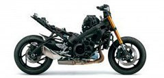 Motocicleta GSX-S1000F Chassis
