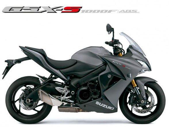 Motocicleta GSX-S1000F Cinza