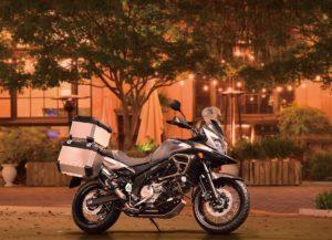 Motocicleta V-STROM 650 XT Design