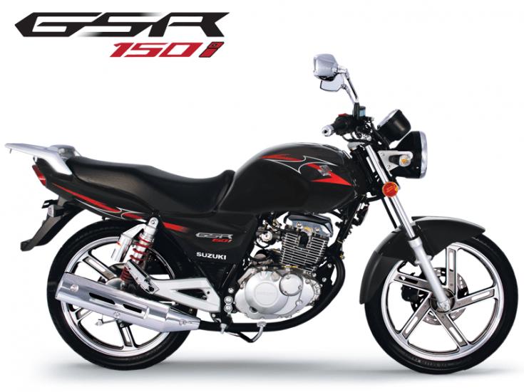 Motos - GSR 150i Preta