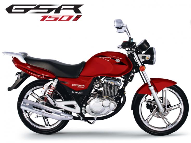 Motos - GSR 150i Vermelha