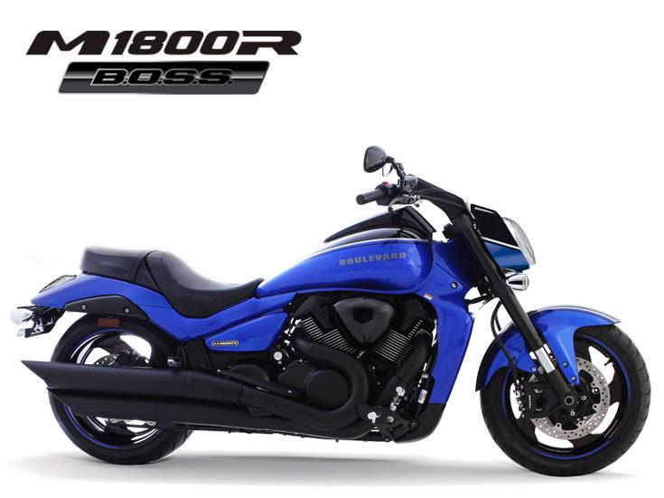 Boulevard M1800R   A motocicleta da Suzuki que veio para ...
