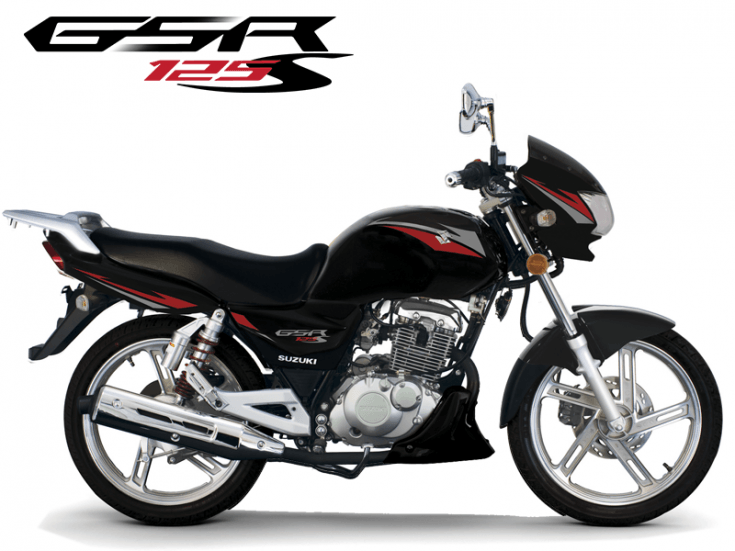 Motos - GSR 125S Preta
