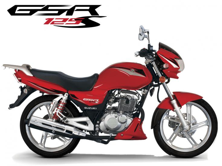 Motos - GSR 125S Vermelha