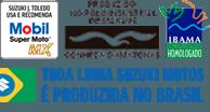 Todas Motocicletas Suzuki são Produzida no Brasil