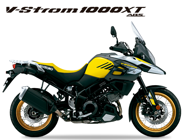 Miniatura da V-Strom 1000 XT nova amarela