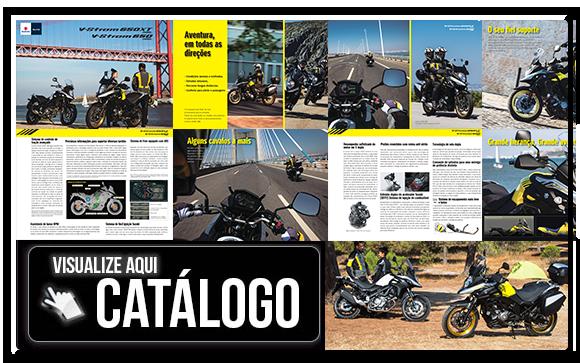 Catálogo da V-Strom 650 A nova em português